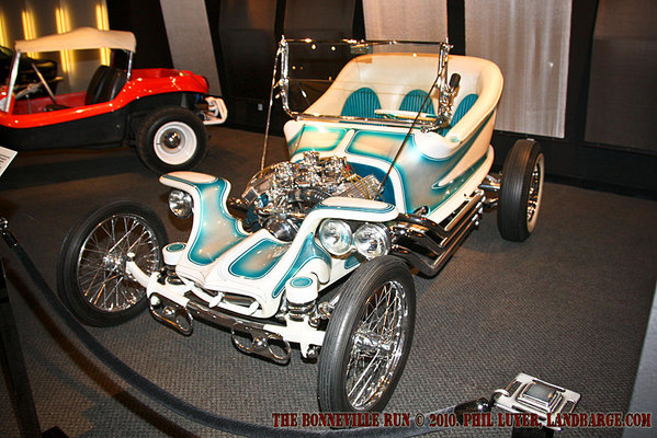 Ed 'Big Daddy' Roth's 'Outlaw' on display at the Petersen Museum