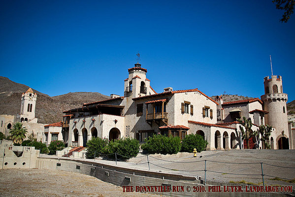 Scoty's Castle, Death Valley. Don't forget to click on the image to see the rest of the photos