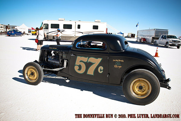 In the Pits at SpeedWeek