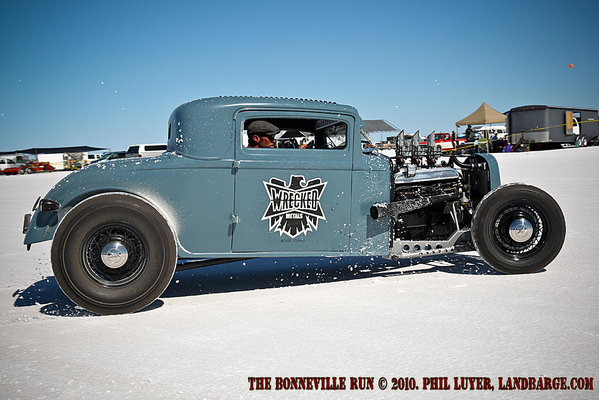 The Bonneville Salt Flats are a mecca for racers and hot rodders alike