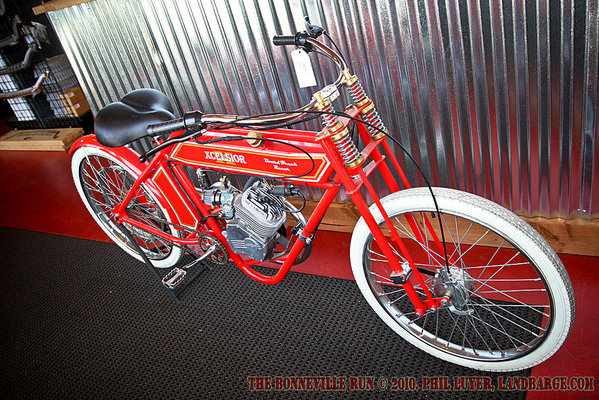 A board track racer style bike for sale at SoCal