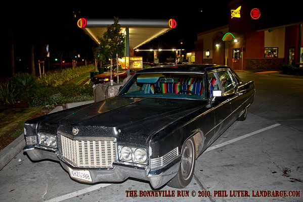 The Cadillac at Sonic Drive-In