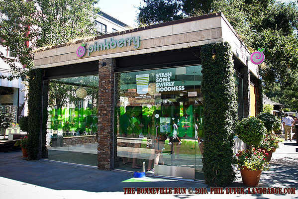 The Pinkberry store at Santana Row